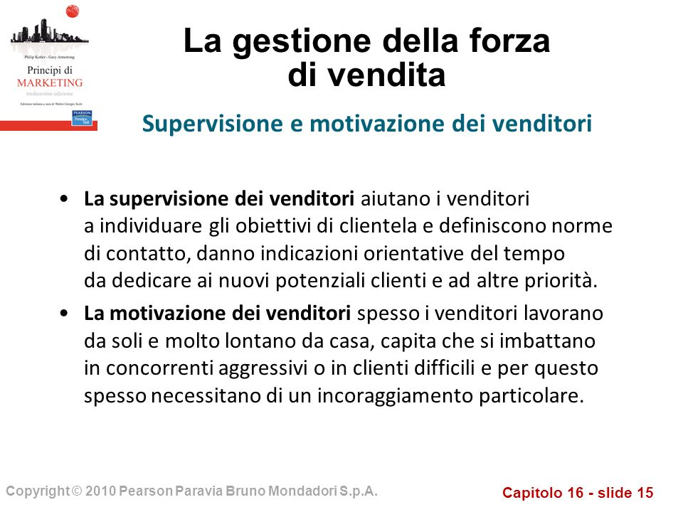 Capitolo 16 - slide 15 Copyright © 2010 Pearson Paravia Bruno Mondadori S.p.A.