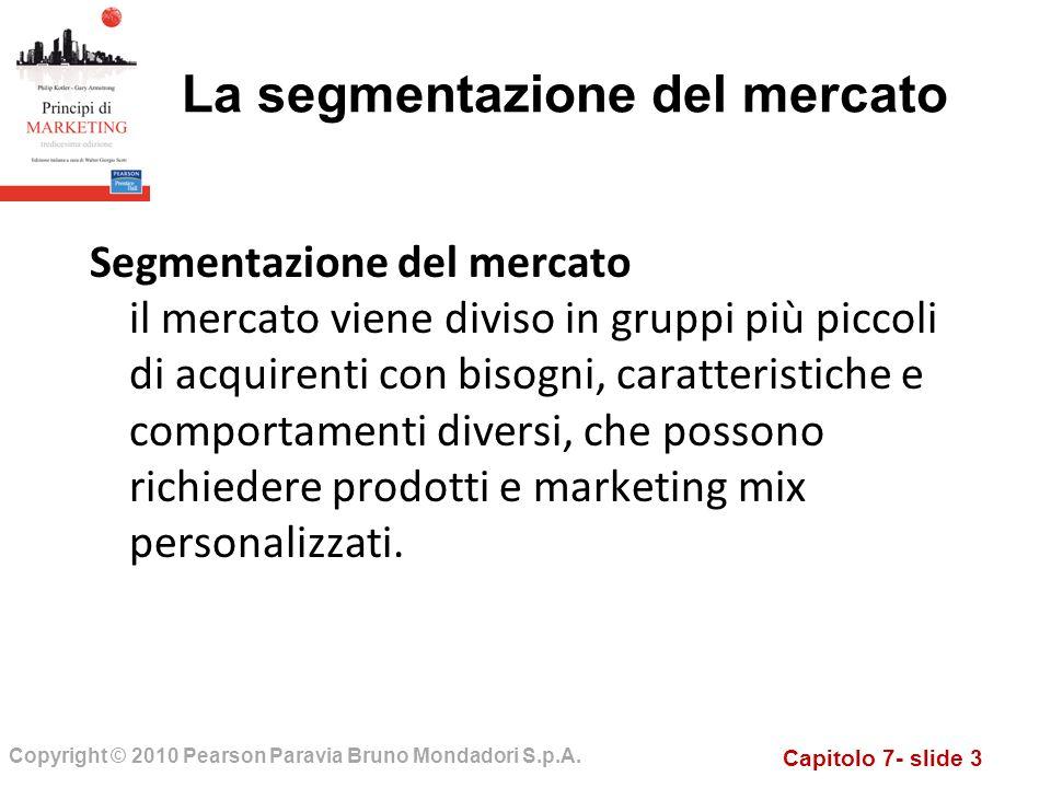 Capitolo 7- slide 3 Copyright © 2010 Pearson Paravia Bruno Mondadori S.p.A.