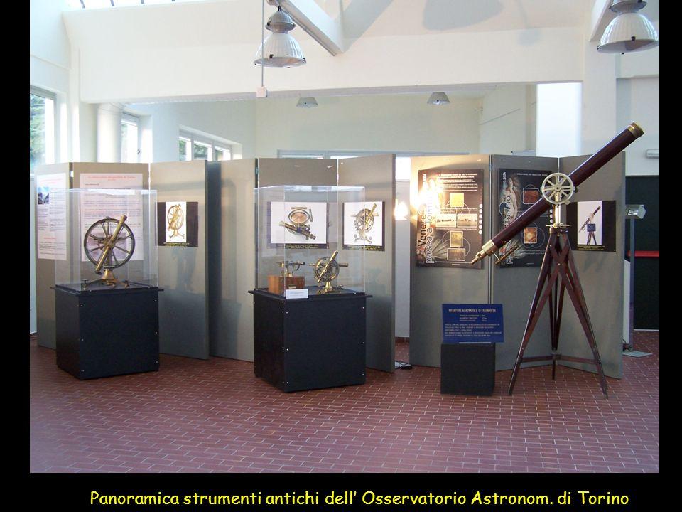 Panoramica strumenti antichi dell Osservatorio Astronom. di Torino