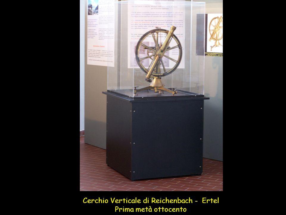 Cerchio Verticale di Reichenbach - Ertel Prima metà ottocento