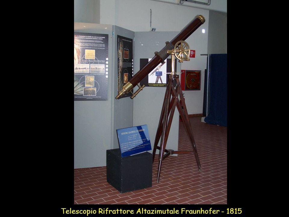 Telescopio Rifrattore Altazimutale Fraunhofer - 1815
