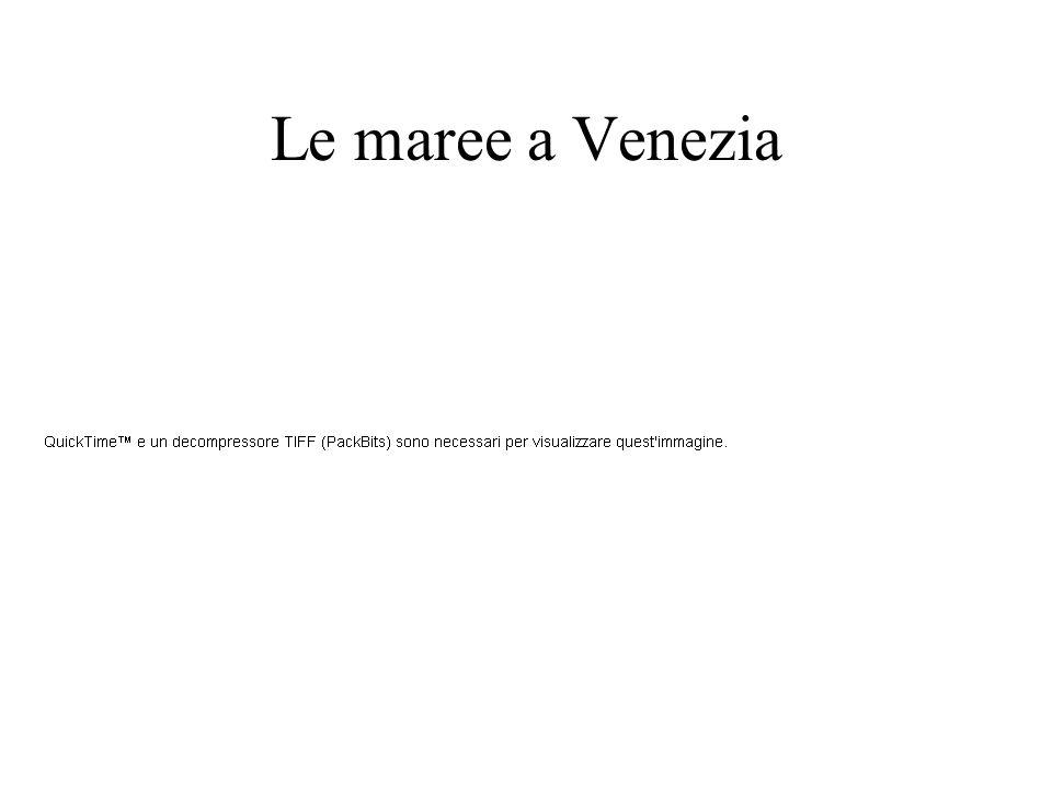 Le maree a Venezia