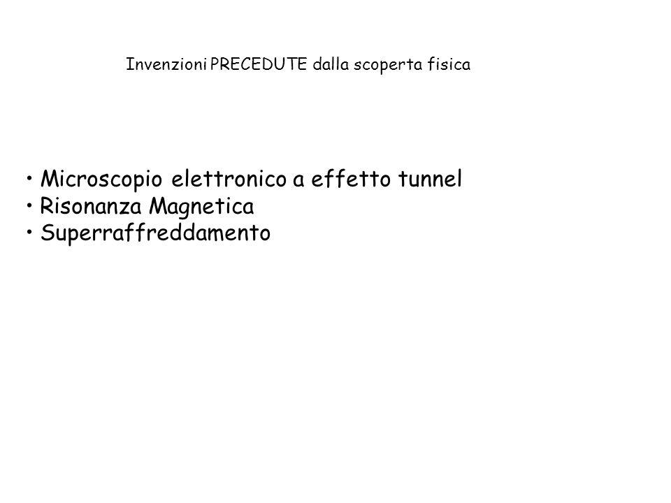 Microscopio elettronico a effetto tunnel Risonanza Magnetica Superraffreddamento CCD (macchine digitali)...