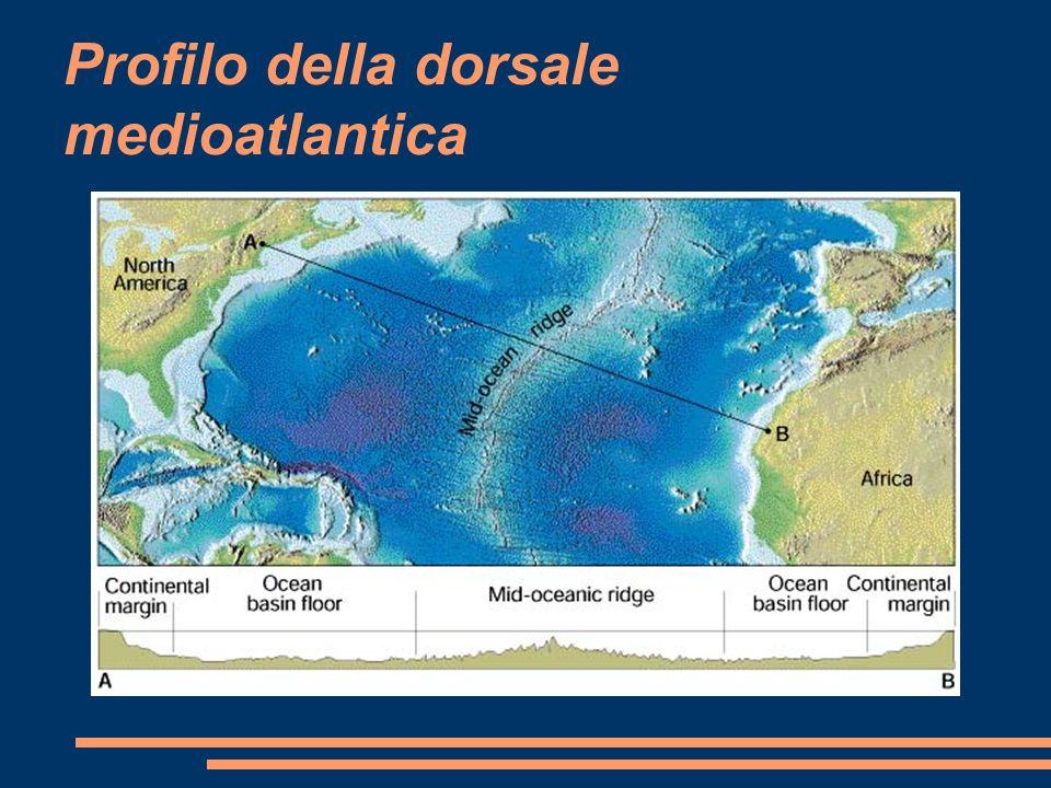 Profilo della dorsale medioatlantica