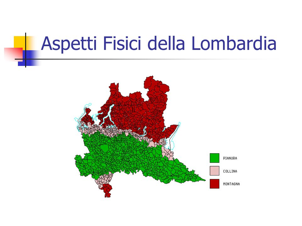 Aspetti Fisici della Lombardia