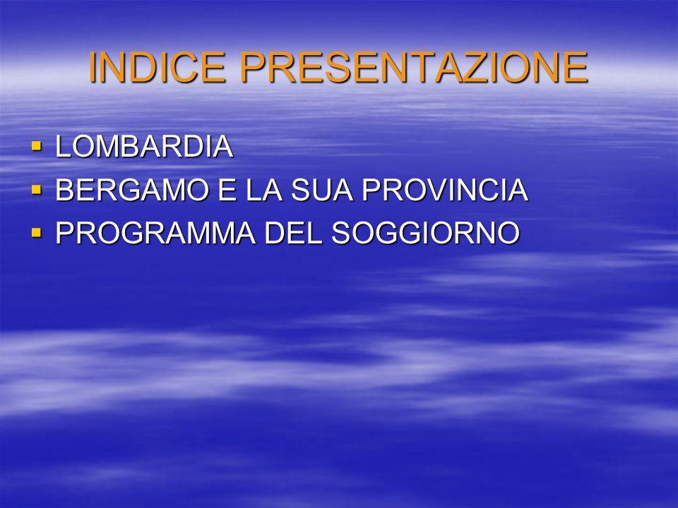 SITOGRAFIA/BIBLIOGRAFIA Il Libro dei fatti 2004, AdnKronos Libri 2004; Geotour, Corradi, Morazzoni, Pisani, edizioni Markes 2003; www.cun-italia.net; www.cun-italia.net www.hotelcavour.it; www.hotelcavour.it www.istruzione.lombardia.it/riunioneue/a2.pdf www.lom.camcom.it/dati/; www.lom.camcom.it/dati/ http://mediavigliana.scuole.piemonte.it/Progetti/Sogg iorniSport/SoggiorniSport.htm; http://mediavigliana.scuole.piemonte.it/Progetti/Sogg iorniSport/SoggiorniSport.htm www.ring.lombardia.it; www.ring.lombardia.it
