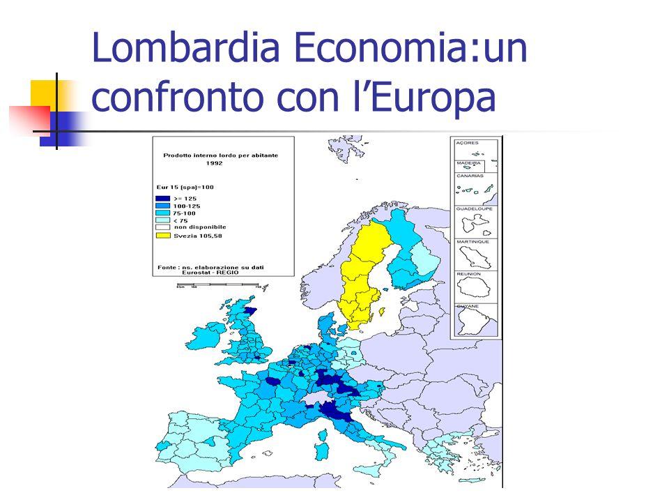 Lombardia Economia:un confronto con lEuropa
