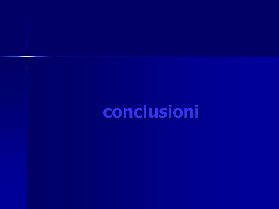 conclusioni conclusioni