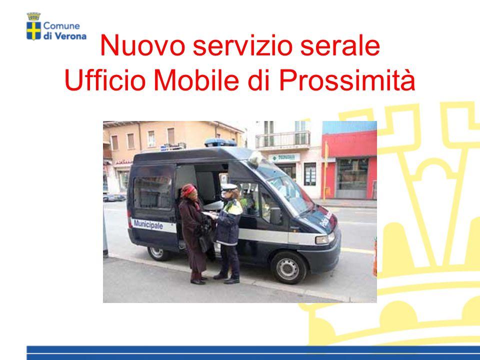Nuovo servizio serale Ufficio Mobile di Prossimità