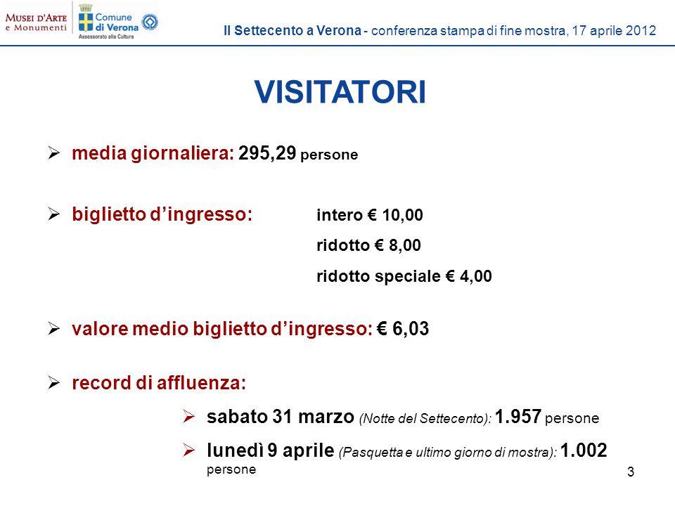 14 Il Settecento a Verona - conferenza stampa di fine mostra, 17 aprile 2012