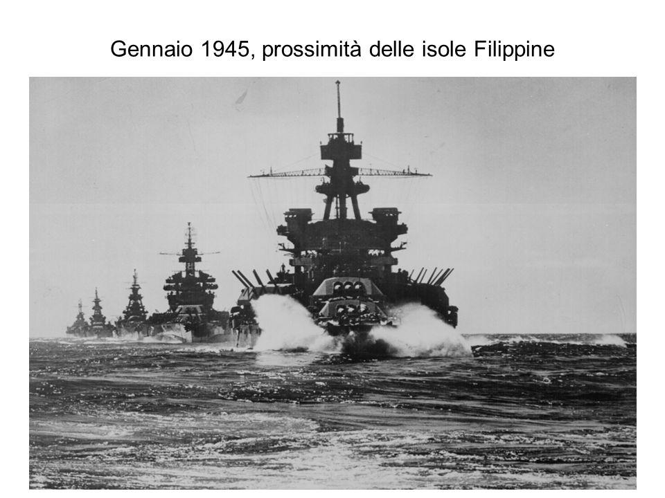 Gennaio 1945, prossimità delle isole Filippine