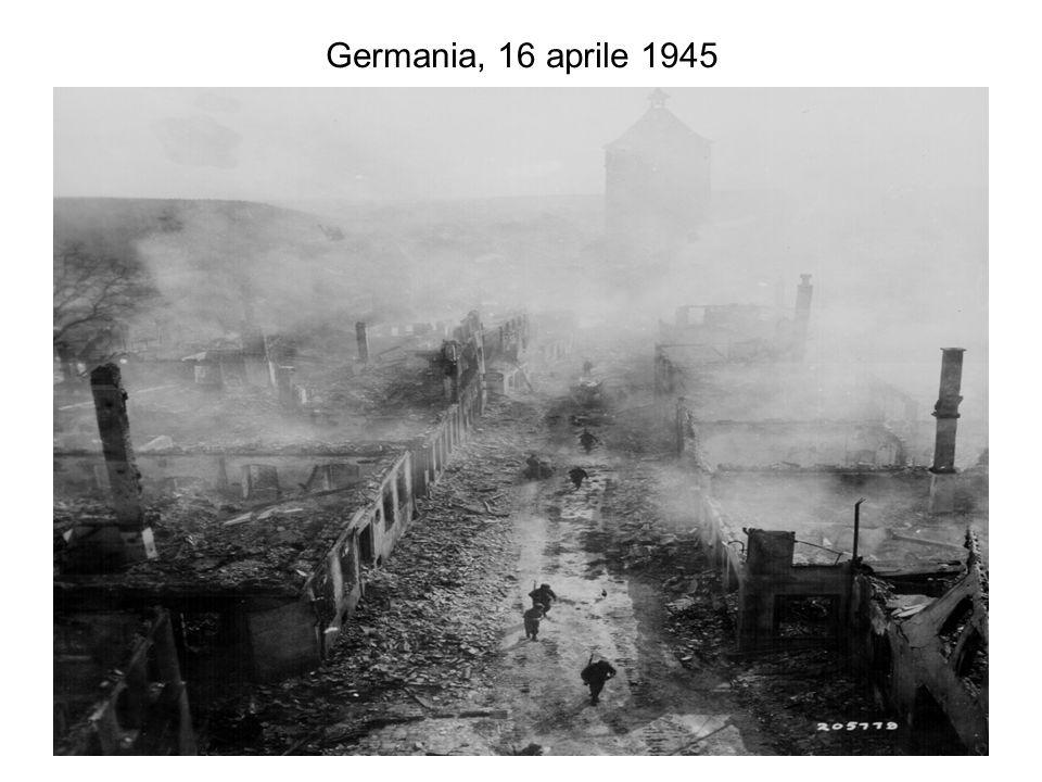 Germania, 16 aprile 1945
