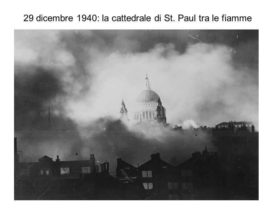 29 dicembre 1940: la cattedrale di St. Paul tra le fiamme