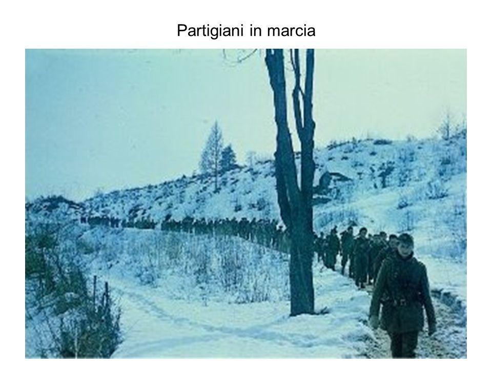 Partigiani in marcia
