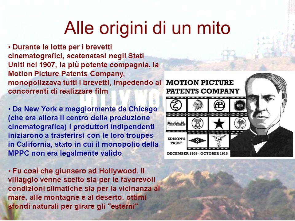 Durante la lotta per i brevetti cinematografici, scatenatasi negli Stati Uniti nel 1907, la più potente compagnia, la Motion Picture Patents Company,