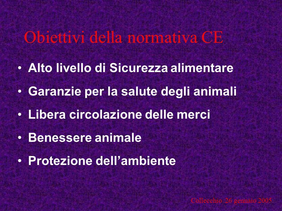 Collecchio 26 gennaio 2005 REGOLAMENTO (CE) N.178/2002 Definizioni R.A.
