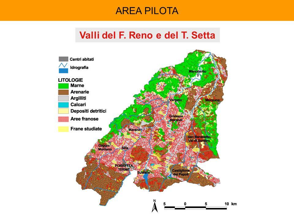 AREA PILOTA Valli del F. Reno e del T. Setta