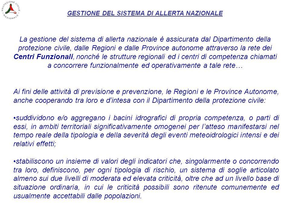 Convenzione n.391 stipulata con lARPA Piemonte il 19/12/2001 Zone di allertamento Calabria Lombardia 102 aree
