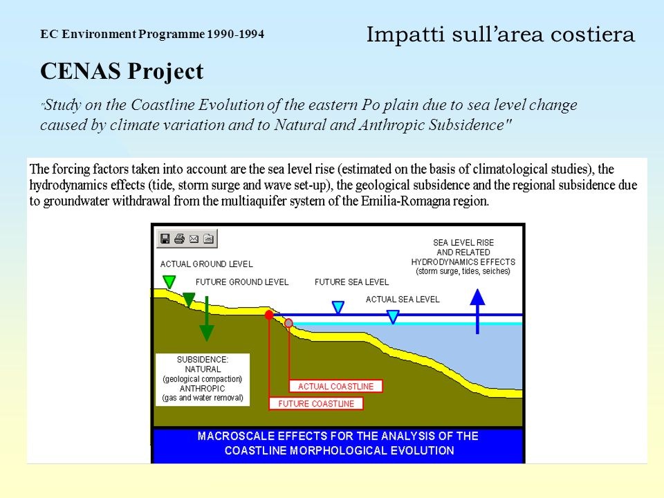 EC Environment Programme 1990-1994 CENAS Project
