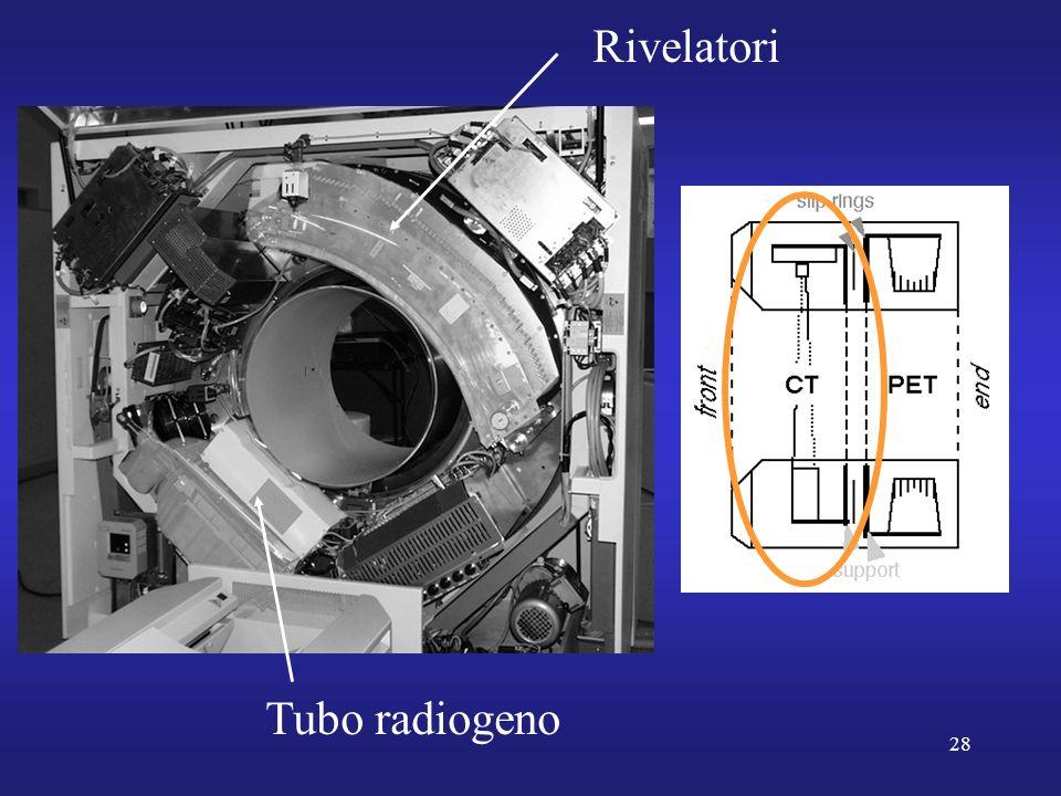 28 Tubo radiogeno Rivelatori