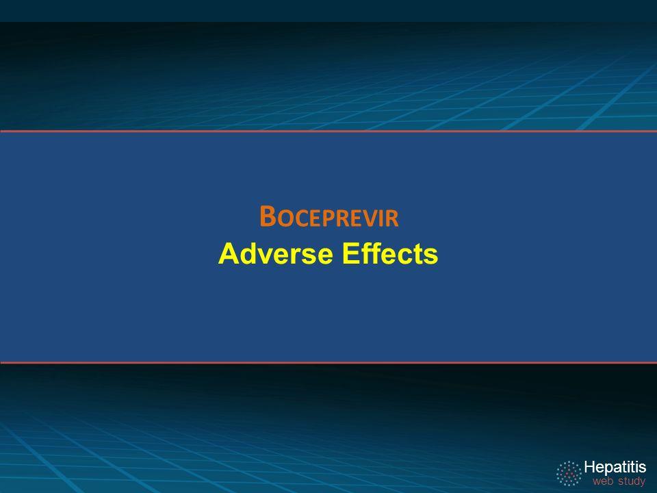 Hepatitis web study Adverse Effects B OCEPREVIR