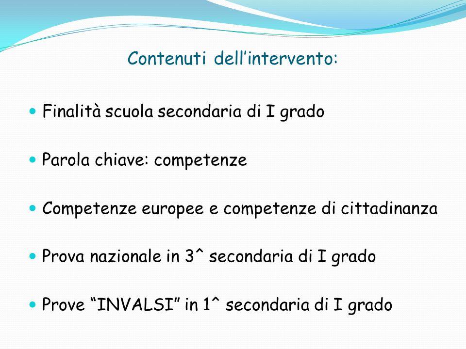 OTTO COMPETENZE CHIAVE EUROPEE 1.Comunicazione nella madrelingua; 2.