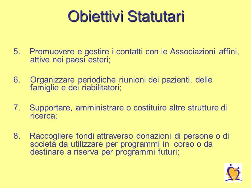 Obiettivi Statutari 5.