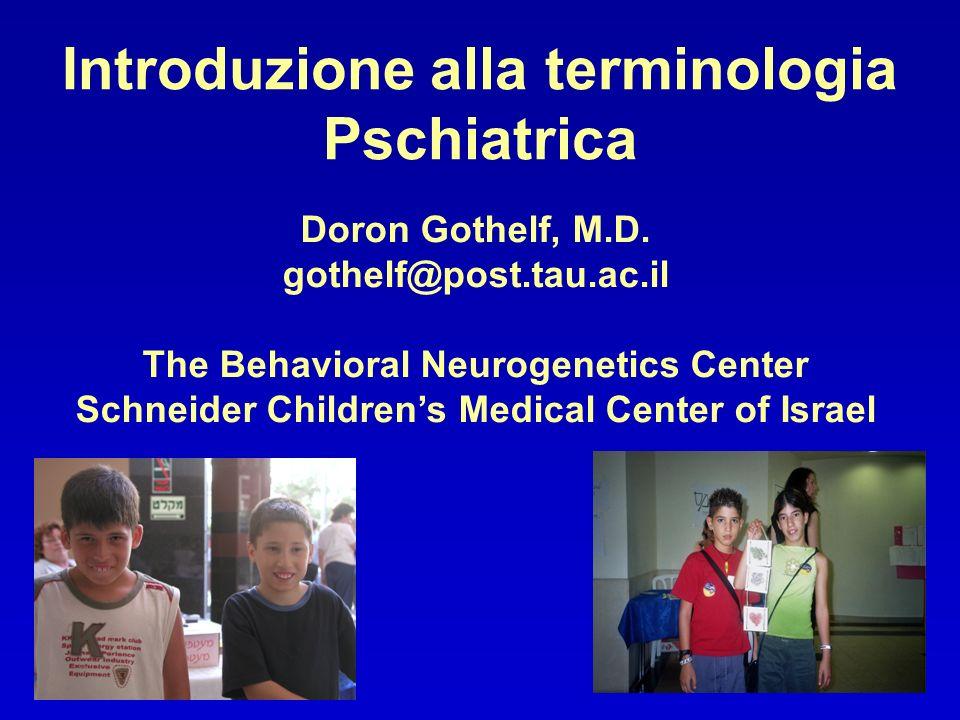 Disturbi Psichiatrici comuni nella VCFS ADHD 40%-60% Disturbi dansia 50%-60% Disturbi dellumore 20%-40% Disordini psicotici 25%