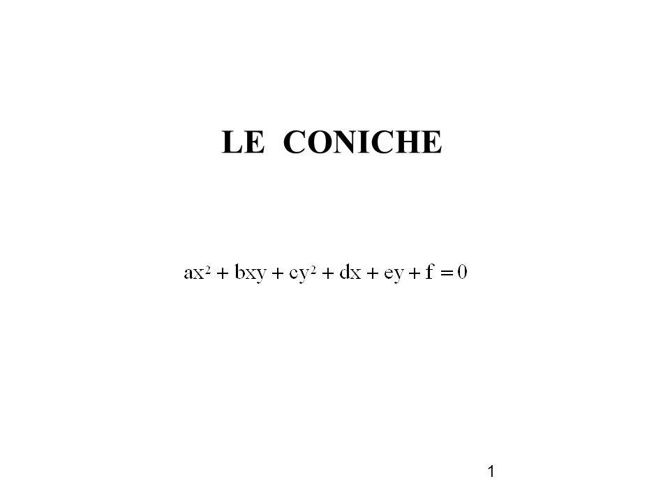 1 LE CONICHE