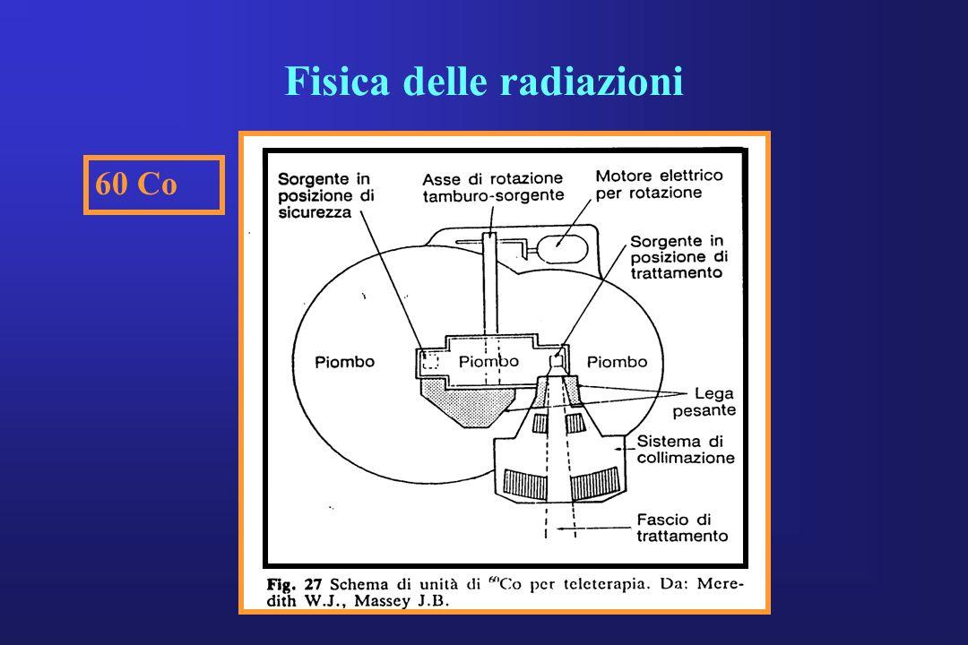 Fisica delle radiazioni 60 Co