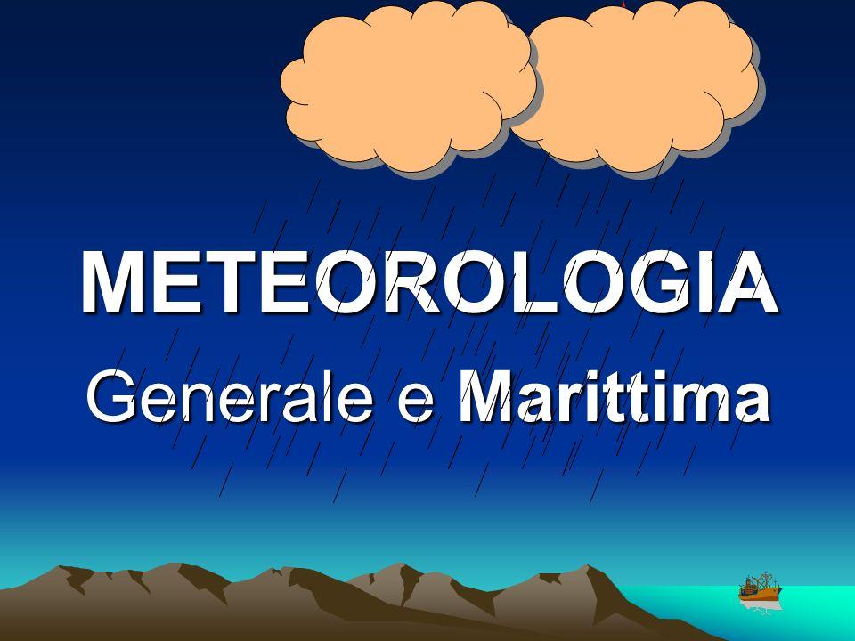 CARTELLA METEO NOTIZIE A CARATTERE PERMANENTE Caratteristiche delle stazioni di interesse che effettuano trasmissioni meteo Scale della forza del mare