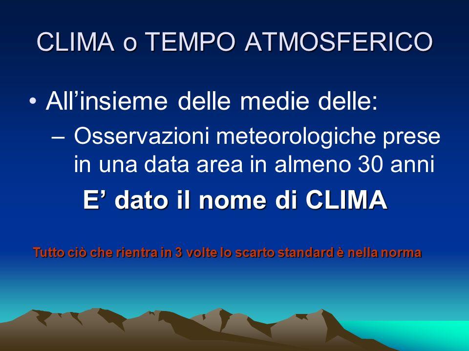 LA PRESSIONE La misurazione delle pressioni sulla verticale di stazioni meteorologiche disseminate in tutto il mondo ci permettono di tracciare delle linee di ugual pressione dette ISOBARE