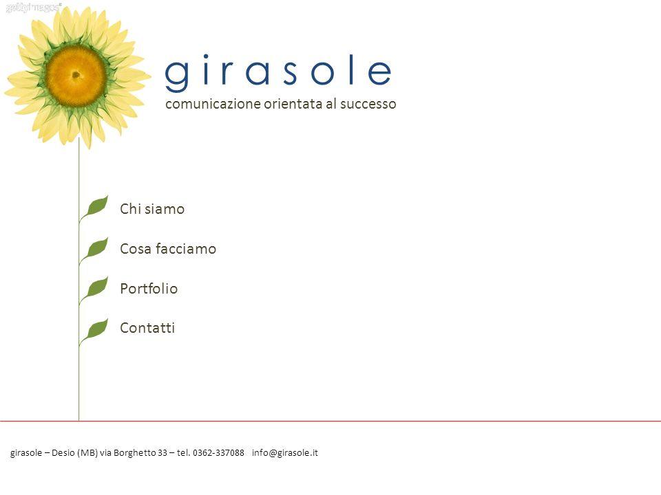 Chi siamo Cosa offriamo Portfolio Contatti info@spincommunication.com Tel.