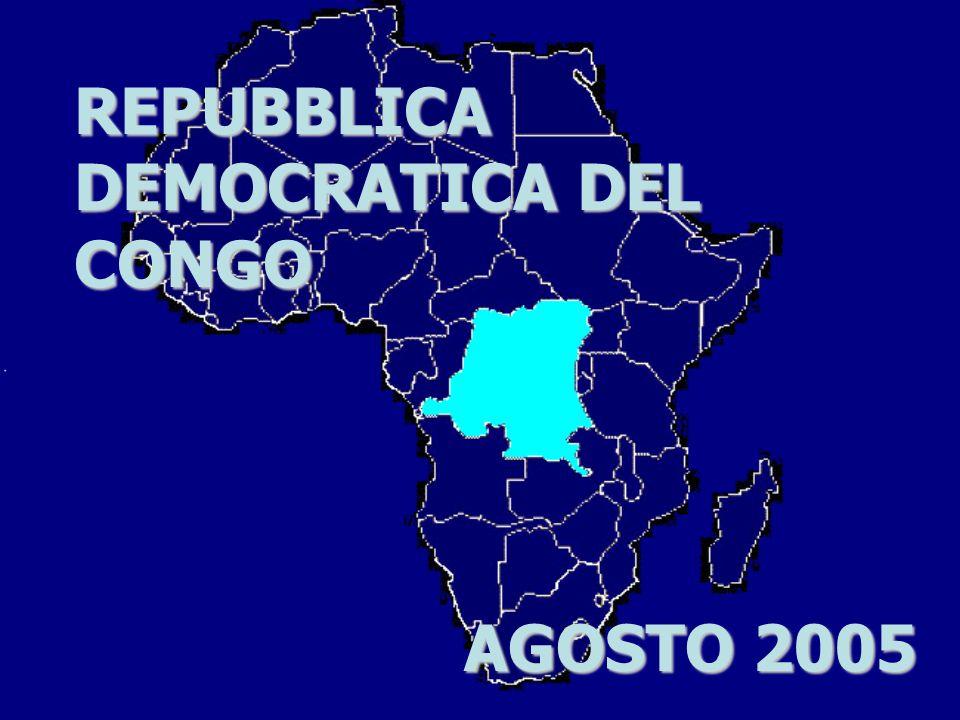 REPUBBLICA DEMOCRATICA DEL CONGO AGOSTO 2005