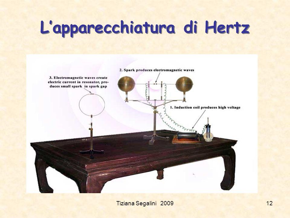 Tiziana Segalini 200912 Lapparecchiatura di Hertz