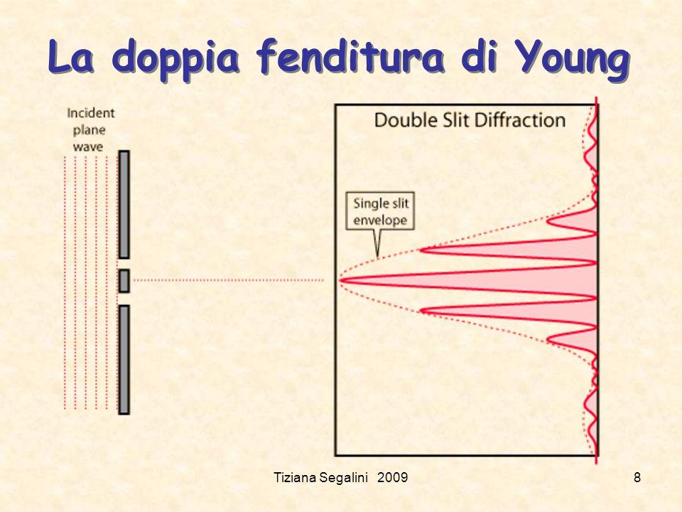 La doppia fenditura di Young Tiziana Segalini 20098