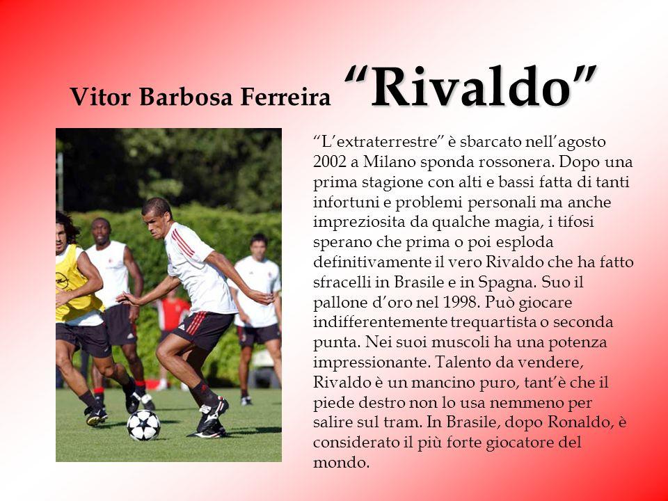 Rui Costa Cesar Manuel Rui Costa Ecco qua luomo assist dei rossoneri. La sua arma migliore è proprio la grande facilità con la quale serve le punte. E