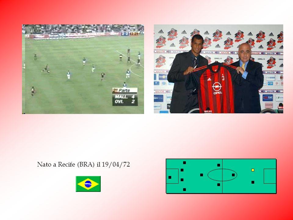Rivaldo Vitor Barbosa Ferreira Rivaldo Lextraterrestre è sbarcato nellagosto 2002 a Milano sponda rossonera. Dopo una prima stagione con alti e bassi