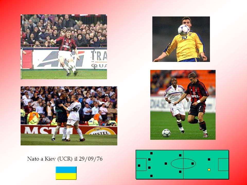 Shevchenko Andriy Shevchenko Sheva, acquistato dalla Dinamo Kiev nel 1999 per 45 mld delle vecchie lire, è stato uno dei più grossi investimenti della