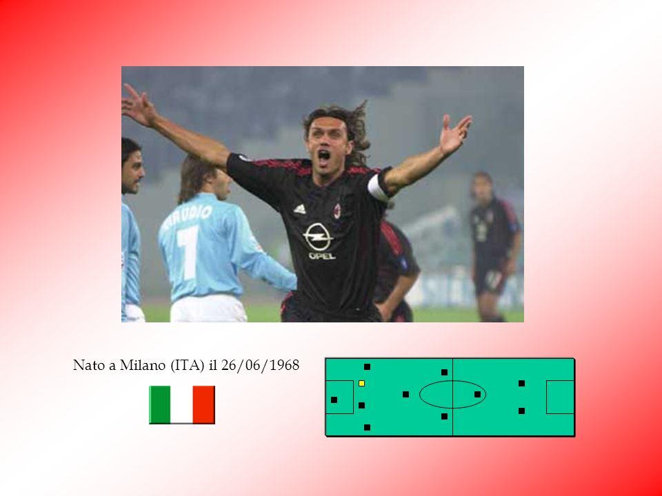 Paolo Maldini Quando ha appeso le scarpe al chiodo Franco Baresi, solo il mitico Paolo Maldini poteva ereditare limportante fascia di capitano della s