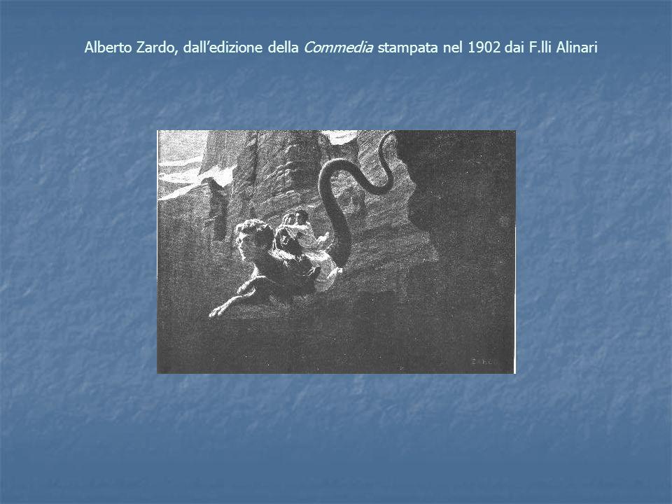 Alberto Zardo, dalledizione della Commedia stampata nel 1902 dai F.lli Alinari