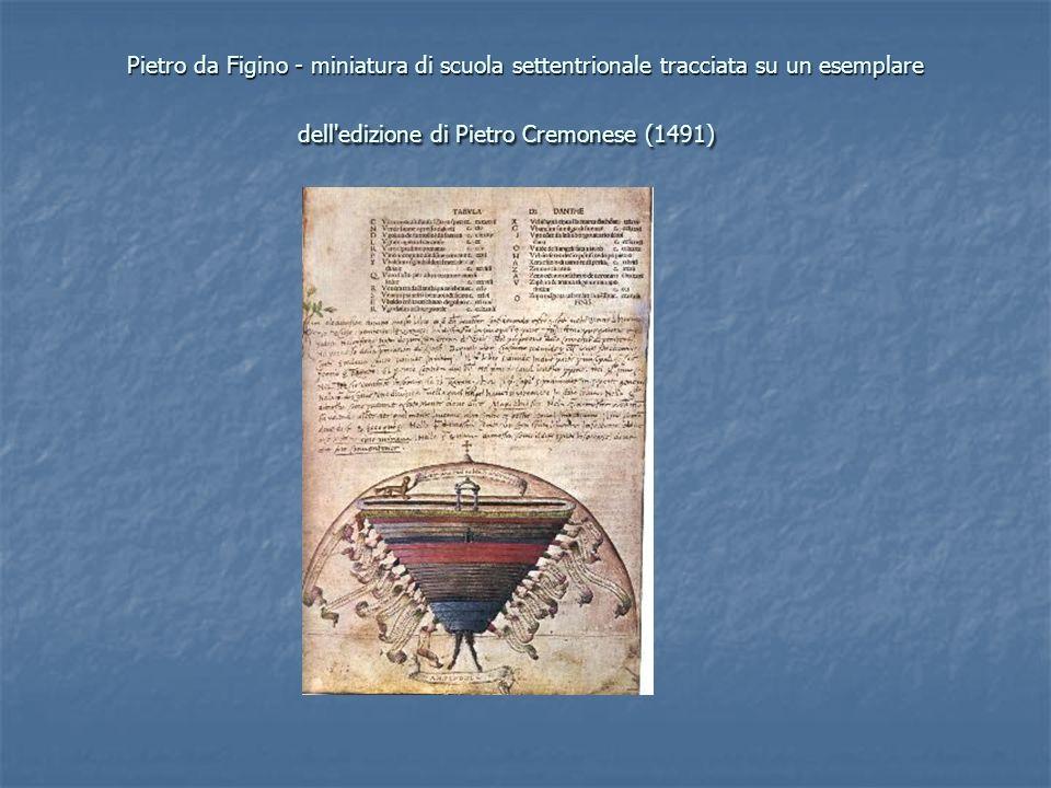 Pietro da Figino - miniatura di scuola settentrionale tracciata su un esemplare dell'edizione di Pietro Cremonese (1491) Pietro da Figino - miniatura