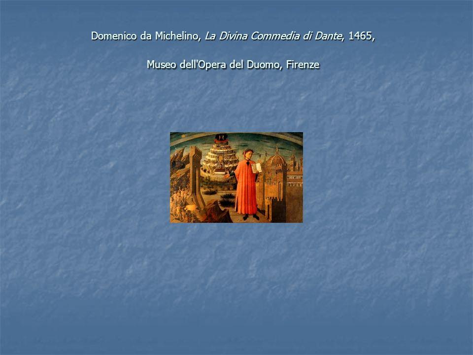 Domenico da Michelino, La Divina Commedia di Dante, 1465, Museo dell'Opera del Duomo, Firenze