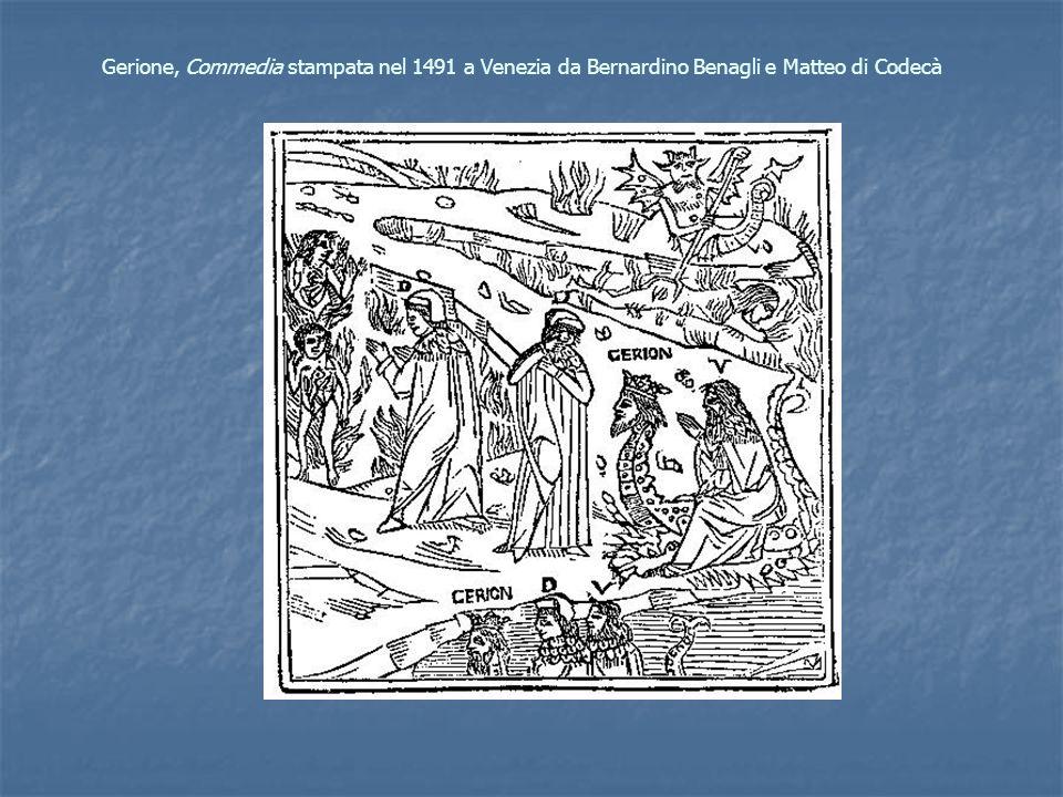 Gerione, Commedia stampata nel 1491 a Venezia da Bernardino Benagli e Matteo di Codecà