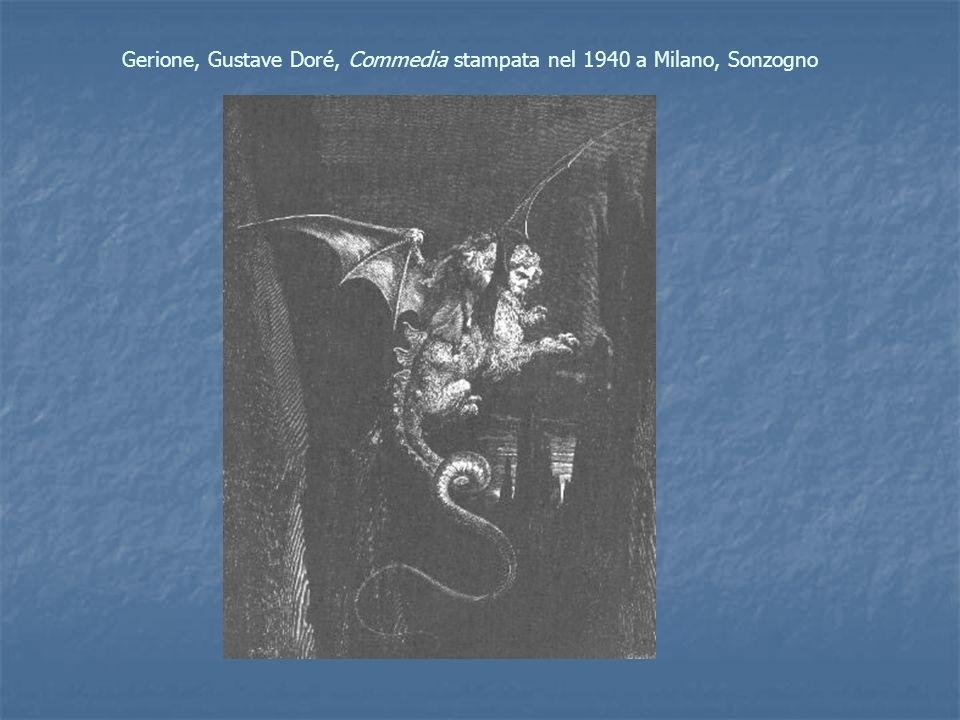 Gerione, Gustave Doré, Commedia stampata nel 1940 a Milano, Sonzogno