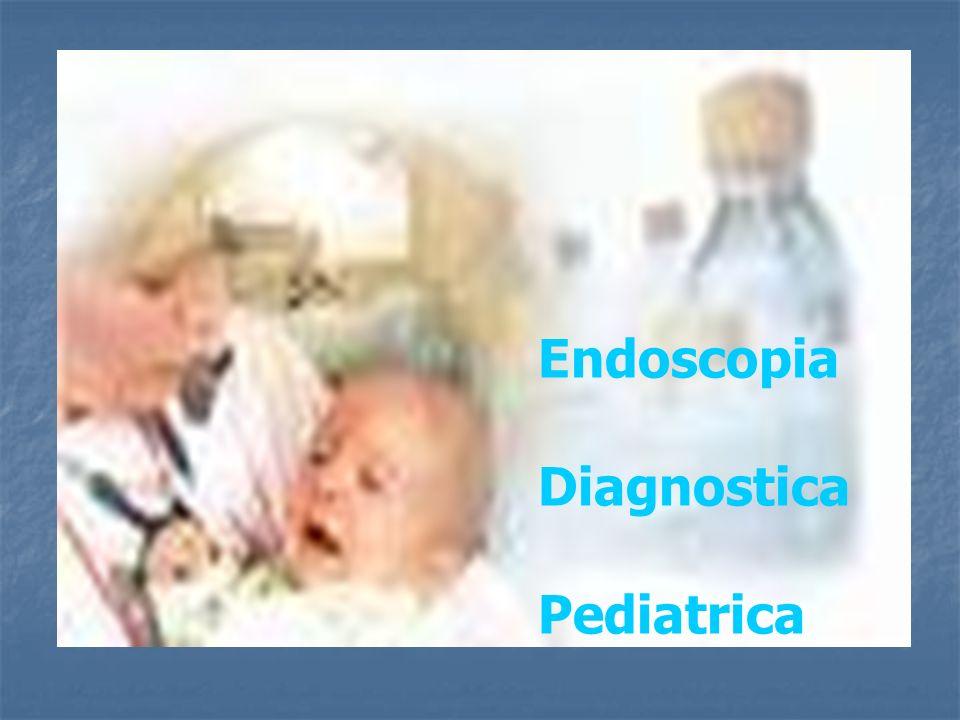 Strumentario La caratteristica peculiare dello strumentario per la Esofagogastroduodenoscopia, pediatrica, oltre che il calibro ridotto (diam.