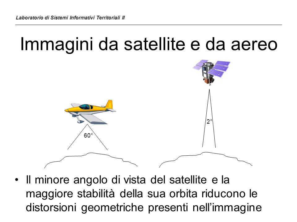 Esempio immagini da aereo Laboratorio di Sistemi Informativi Territoriali II