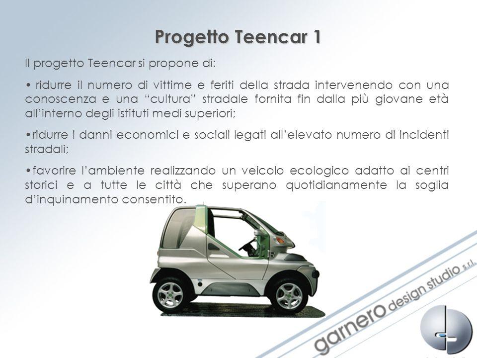 Progetto Teencar 1 Il progetto Teencar si propone di: ridurre il numero di vittime e feriti della strada intervenendo con una conoscenza e una cultura
