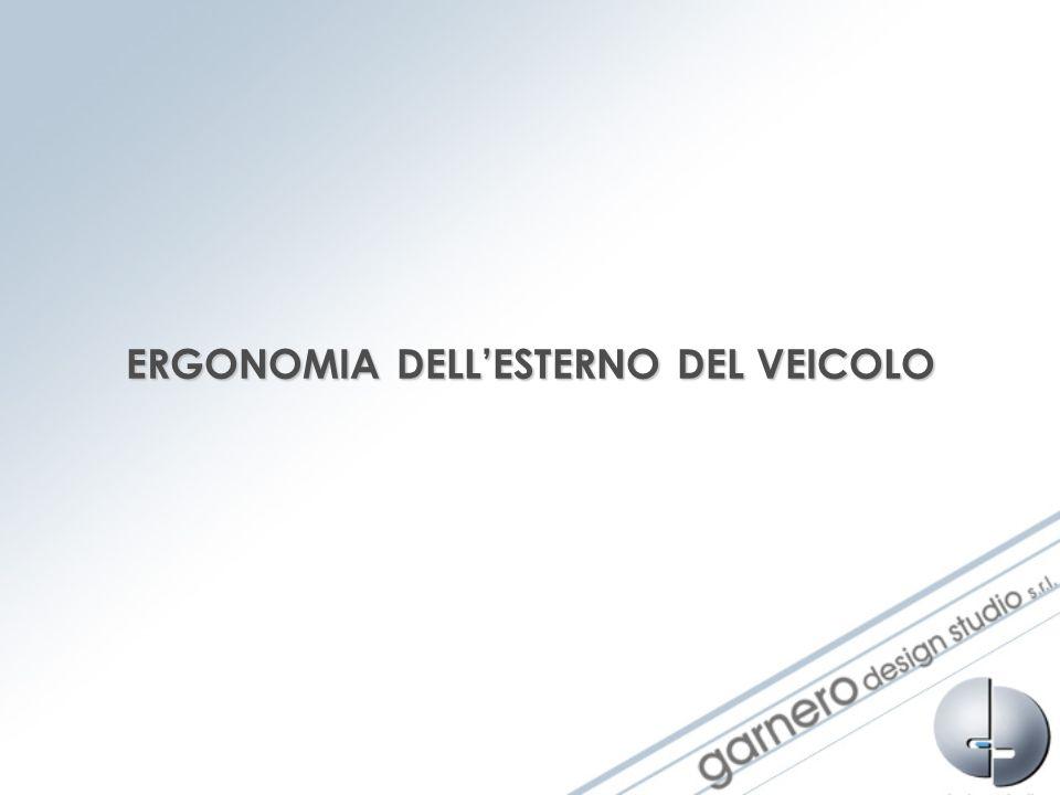 ERGONOMIA DELLESTERNO DEL VEICOLO