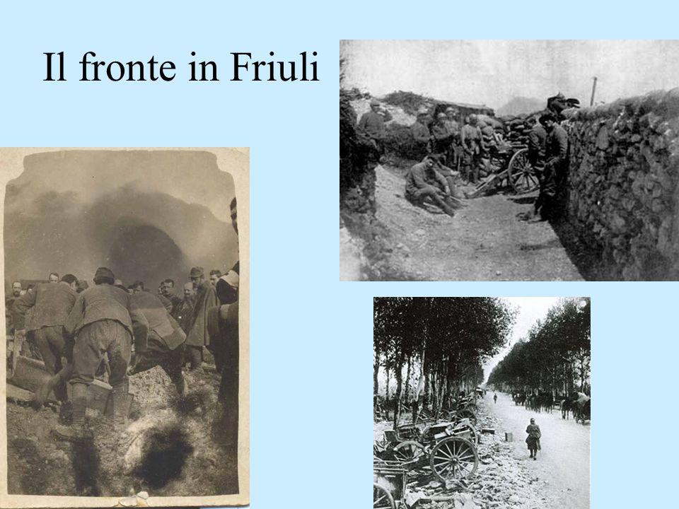 Udine, piazza XX Settembre dopo la liberazione primi di novembre del 1917